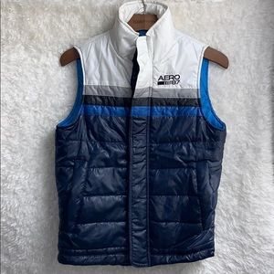 Aeropostale Puffer Vest In Men's Coats & Jackets